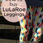 How to Buy LuLaRoe Leggings