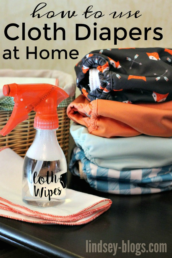 How to Use Cloth Diapers at Home