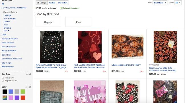 LuLaRoe on Ebay