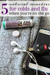 5 Natural Cold and Flu Relief Ideas for When You're On the Go