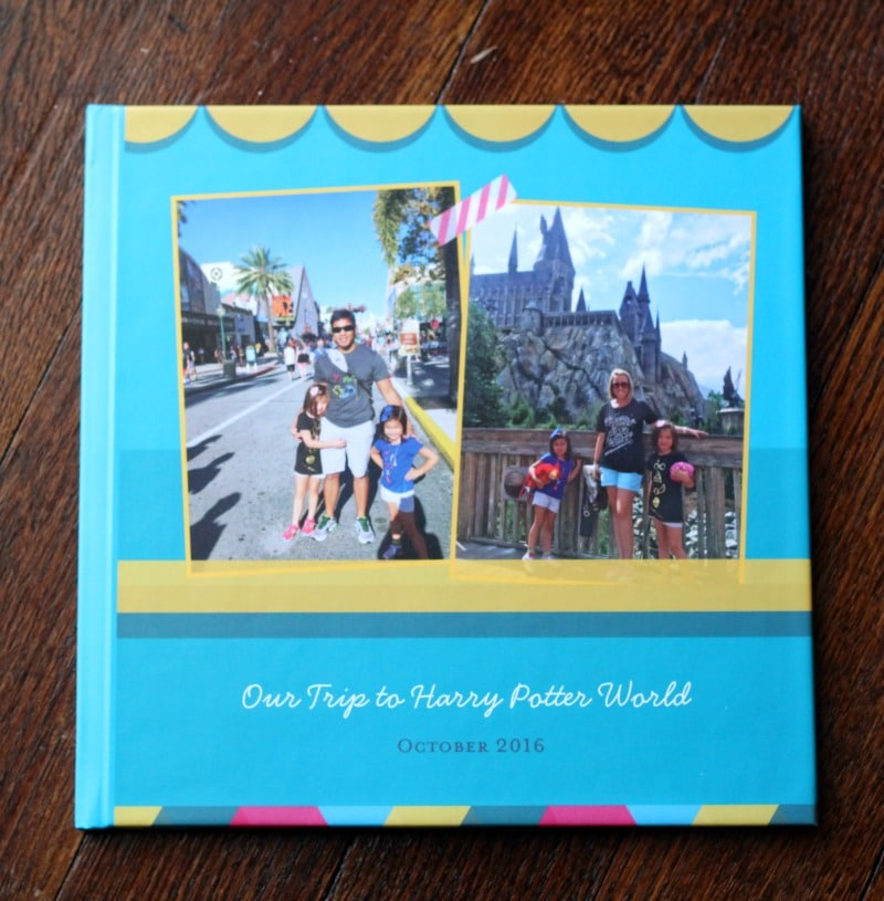 Harry Potter photo book