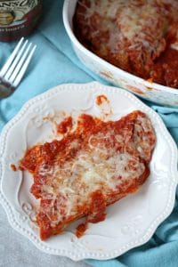 Spinach Manicotti – Prepare Ahead Meals that Save Time