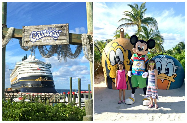 Family fun with Mickey Mouse on Disney's Private Island Castaway Cay only available on a Disney Cruise