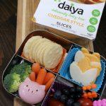 Bento box full of plant based foods