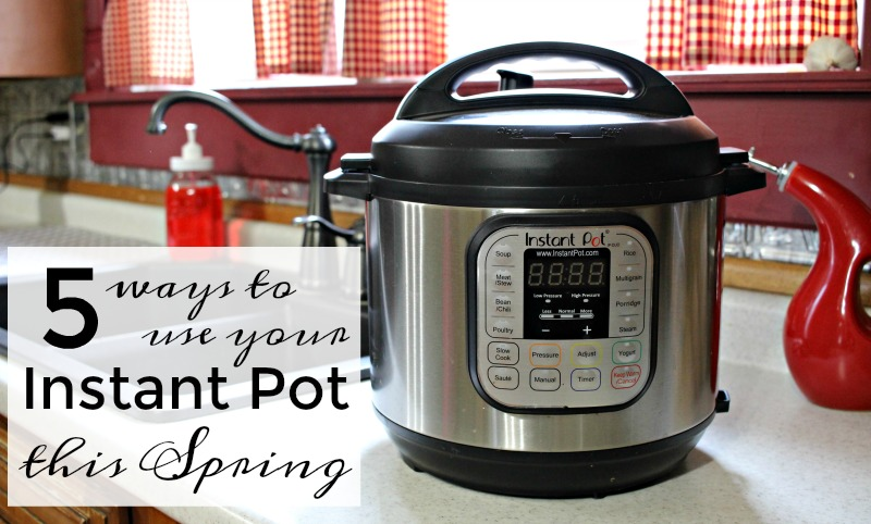 Use Your Instant Pot in Spring