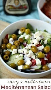 An Easy and Delicious Mediterranean Salad Recipe to Make Tonight
