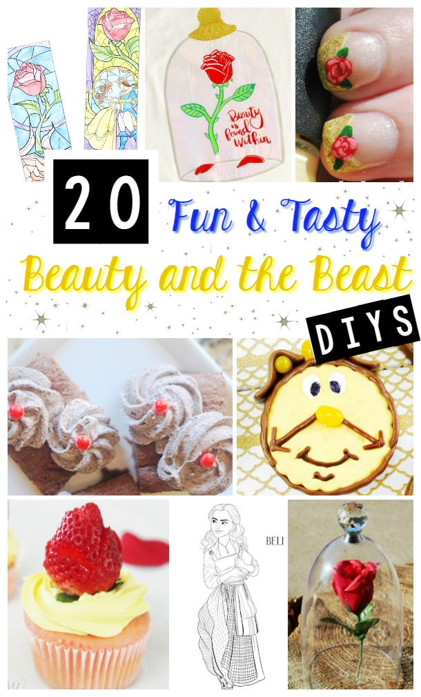 Beauty and Beast crafts and activities