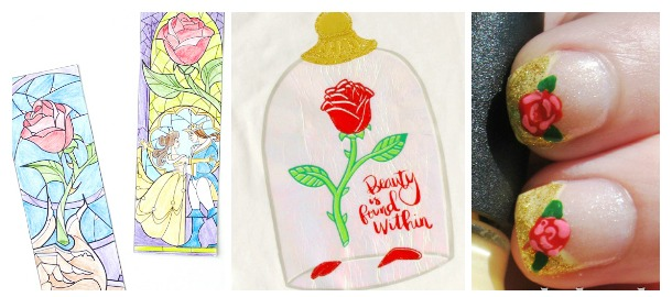 20 Fun DIY Beauty And The Beast Crafts
