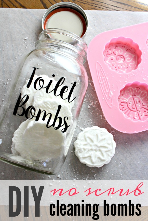 DIY Toilet Cleaner Tabs