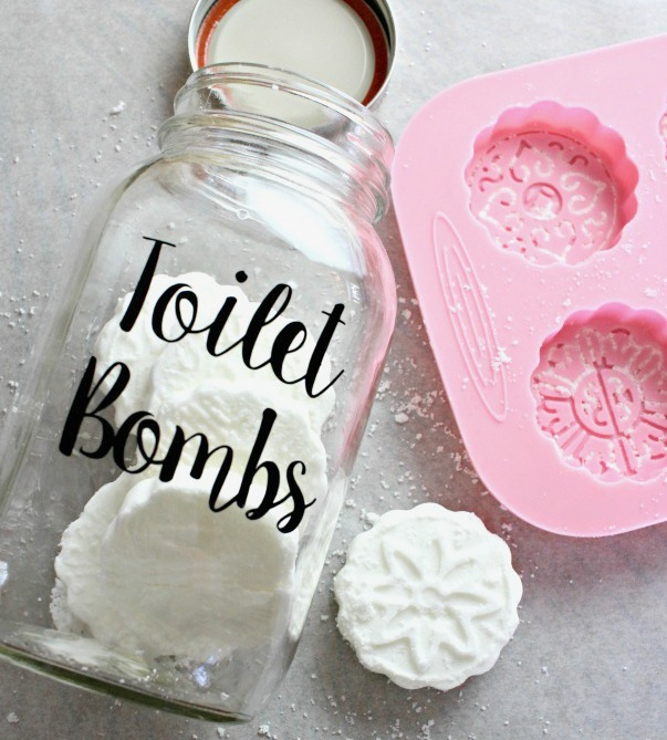 DIY Toilet Cleaning Bombs