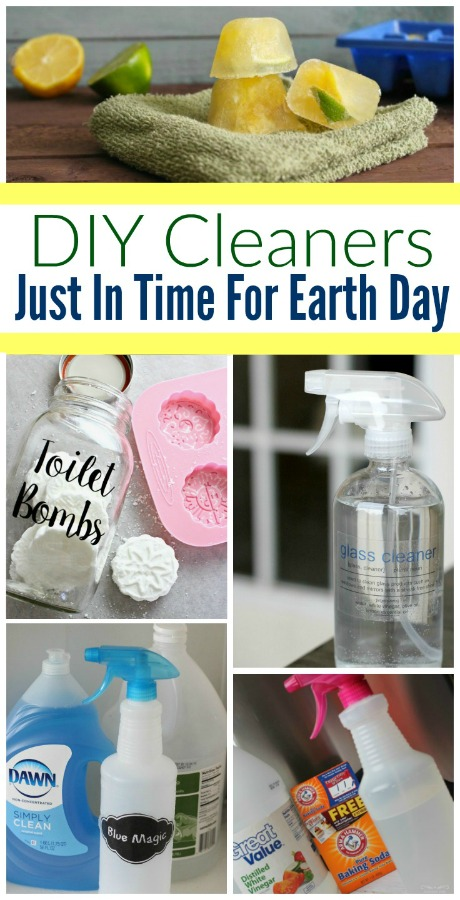 DIY Cleaners to make to clean your home more naturally