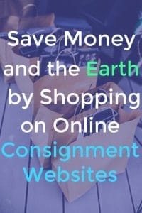 Save Money and the Earth By Shopping Online Consignment Websites