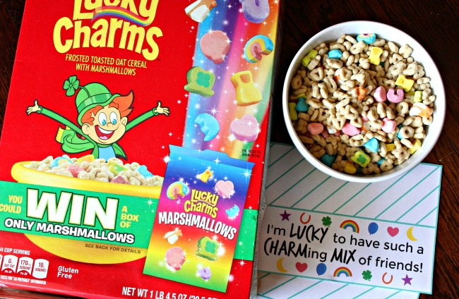 Win Lucky Charms Marshmallows Only Box at Walmart
