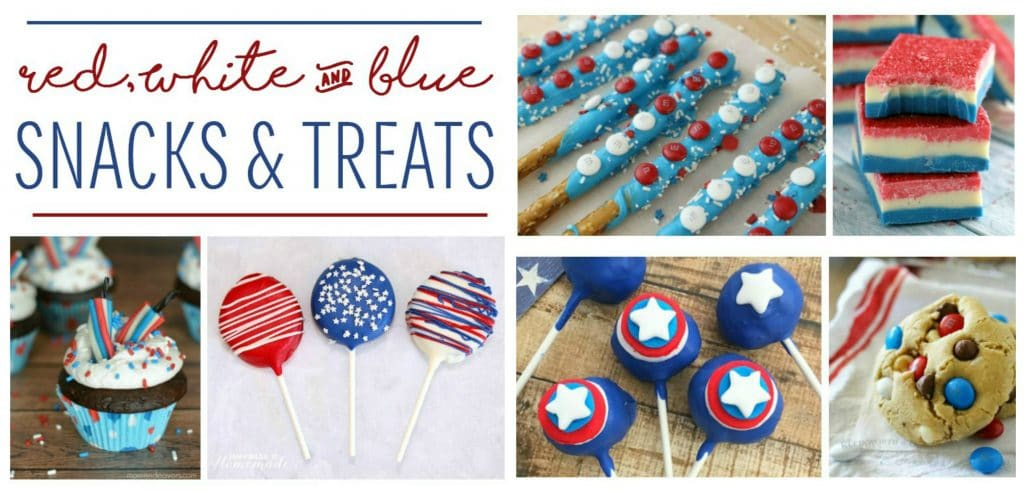 Snack and Treats for July 4th