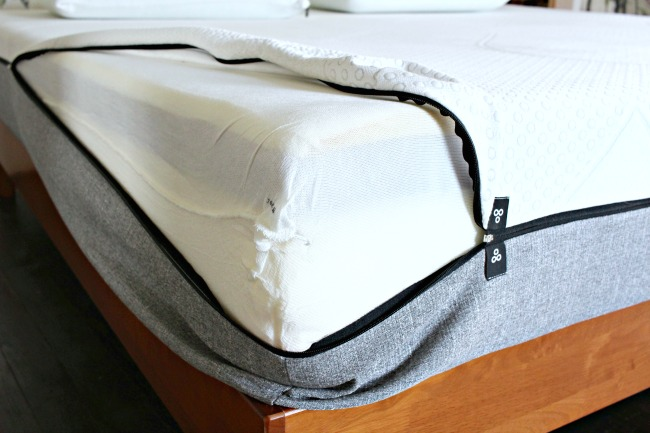 Yogabed Zip Off Washable Cover for Memory Foam Mattress