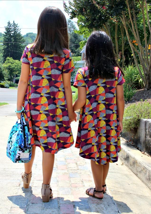 Back of LuLaRoe Dresses