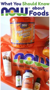 4 Things You Should Know About NOW Foods