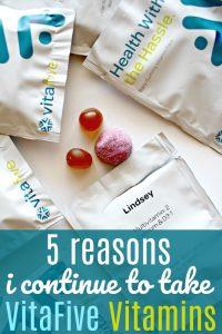 5 Reasons I Continue to Take VitaFive Vitamins