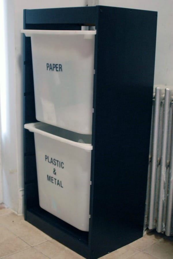 6 Diy Recycling Bins That You Can Make Today