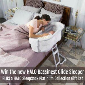 HALO Bassinest Glide Sleeper Giveaway