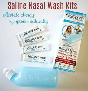 Remedy Fall Allergy Symptoms with Nasopure Nasal Wash