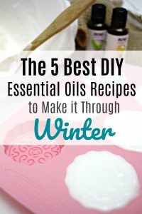 5 of My Favorite DIY Essential Oils Recipes to Get You Through Winter