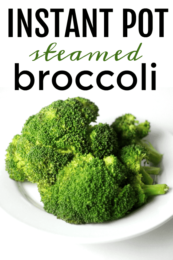 Instant Pot Broccoli steamed perfectly