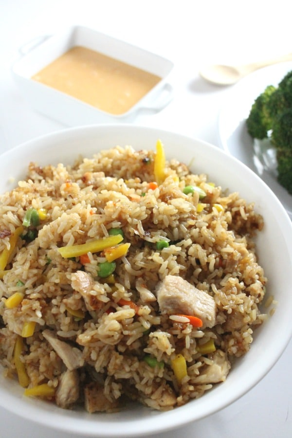 Yakitori Chicken fried rice