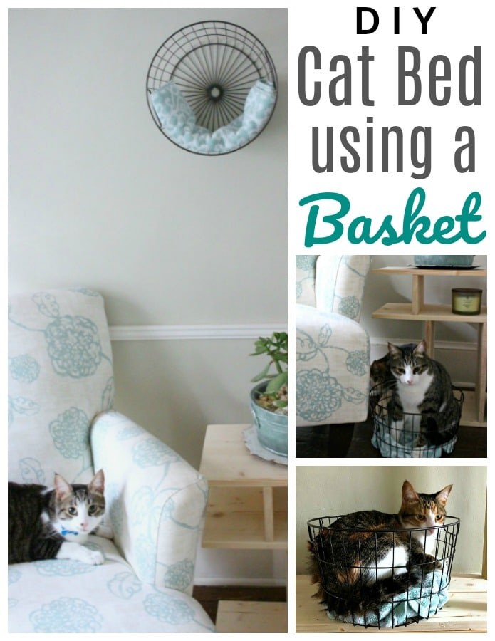 Do You Have A Cat That Loves Bo Make Your Own Diy Bed With Simple Basket To Compliment Any Home Decor Style And Keep Hy