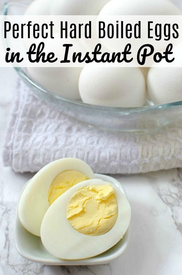 how to make perfectly cooked instant pot hard boiled eggs