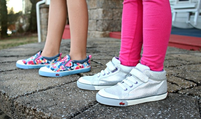 girls standing wear see kai run girls shoes