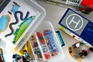DIY PLAYMOBIL Storage Case with Play Map for Fun on the Go