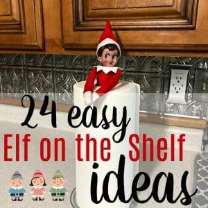 Elf on the Shelf Ideas for a Lazy Mom Like Me