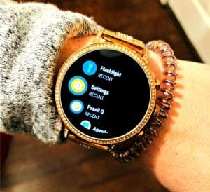 Check Out this Rose Gold, Stylish Smart Watch from Fossil