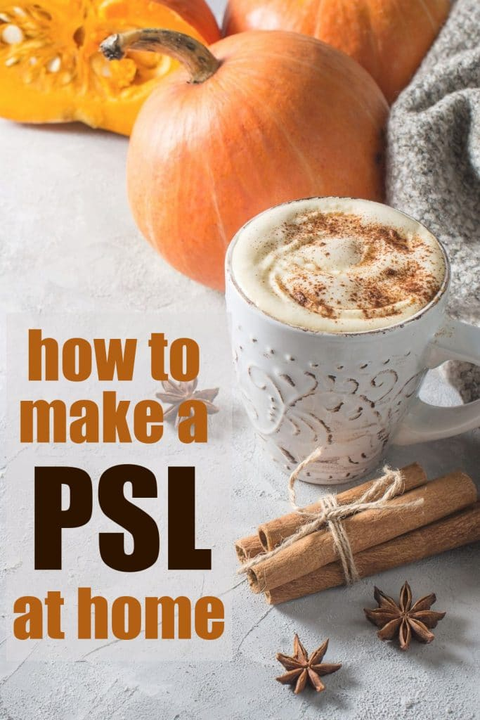 white cup of coffee with pumpkin and cinnamon sticks