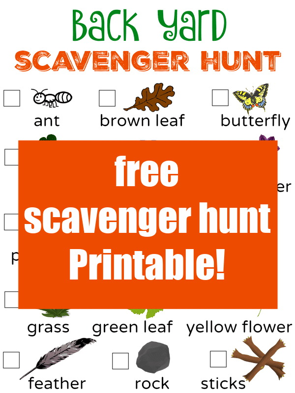 Print this FREE Easter Scavenger Hunt for Kids - Play Today!