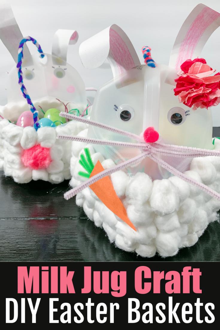 How to Make Milk Jug Easter Baskets
